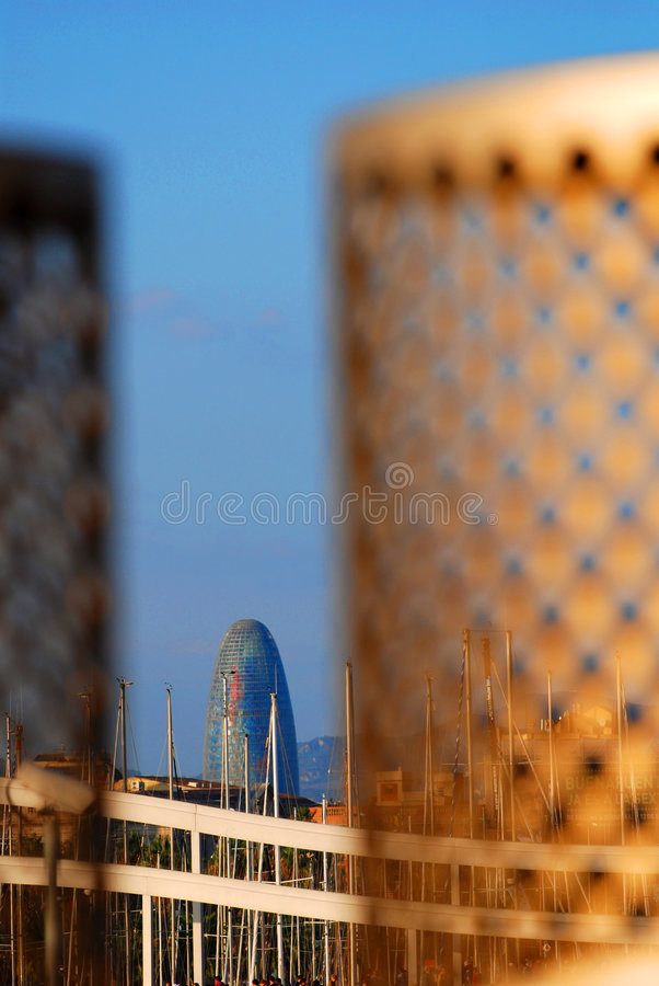 Download Agbar Tower stock photo. Image of concrete, nouvel, torre - 3584184