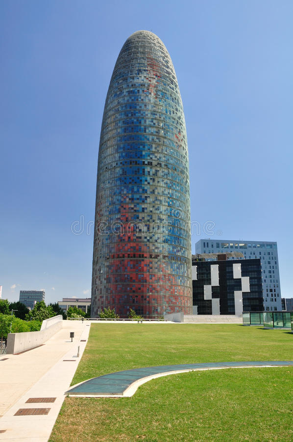 Agbar tower. stock image