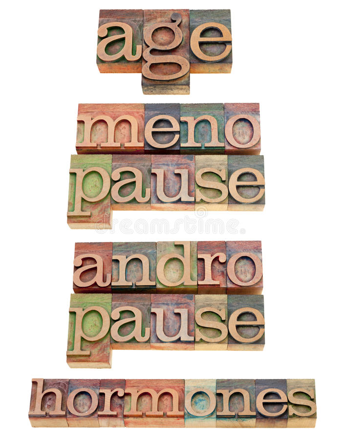 Download Age, Hormones, Menopause And Andropause Stock Photo - Image: 21037976