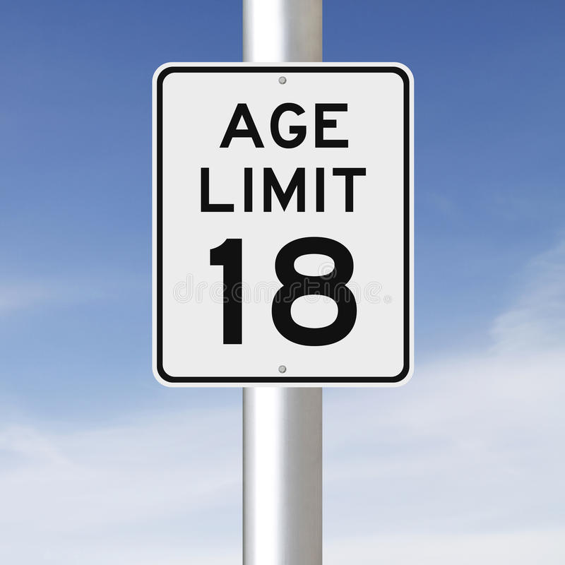 Age limit for dating 18