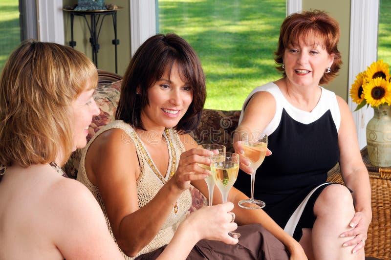 age middle three women στοκ εικόνες