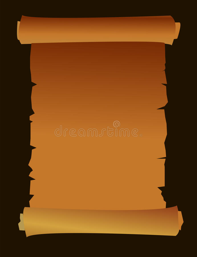 An  Age Old Paper Royalty Free Stock Images