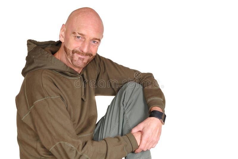 aged attractive man middle στοκ εικόνες με δικαίωμα ελεύθερης χρήσης