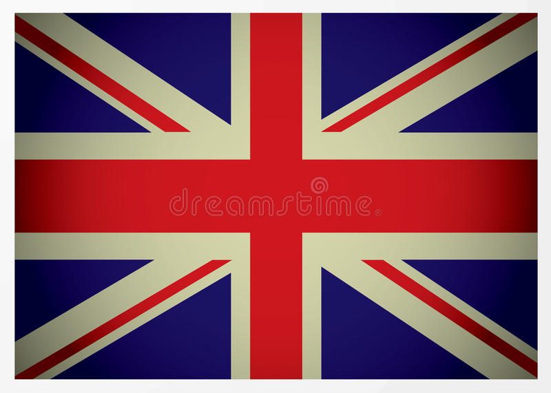 Download Aged british flag stock vector. Image of background, britain - 12988914