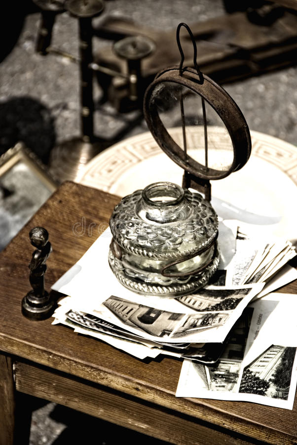 Free Aged Lamp Stock Image - 14035081