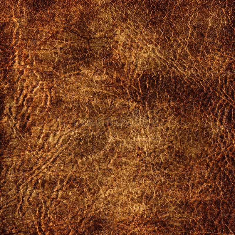 Aged leather texture. Can be used as background stock illustration