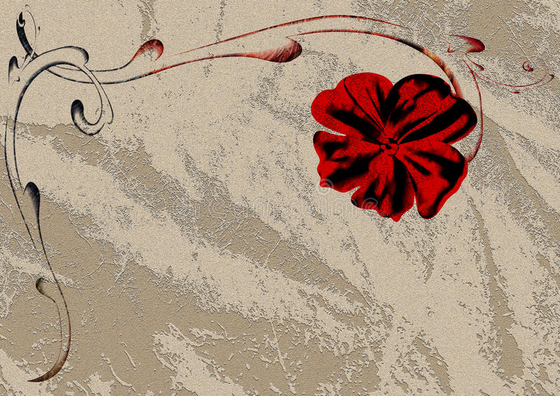Download Aged ornament frame stock illustration. Image of grey - 30551245
