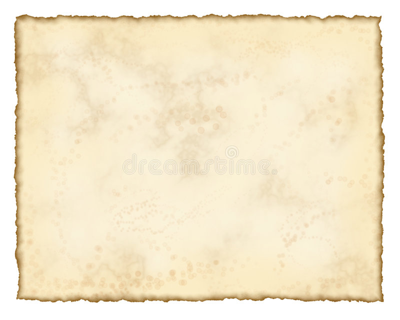Aged paper. Antique parchment background