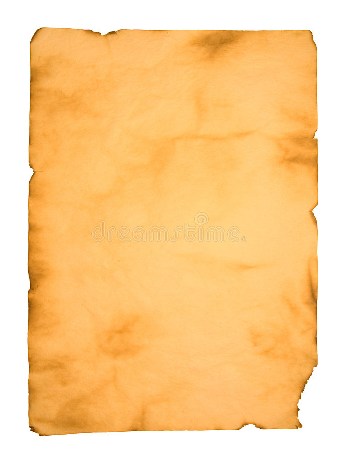 Aged paper stock photography