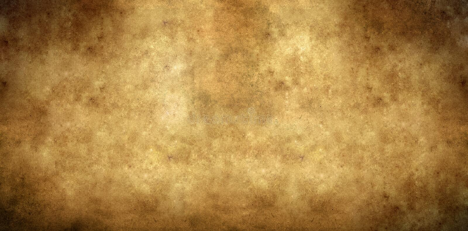 Aged Paper Background Royalty Free Stock Photo