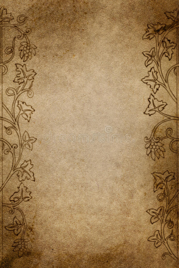 Aged paper stock image