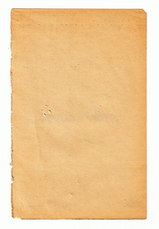 Aged Paper Digitally Scanned From Old Books Royalty Free Stock Images