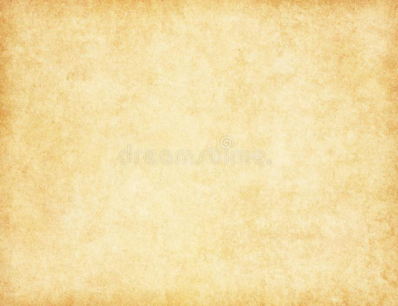 Aged paper texture. Beige paper background royalty free stock photography