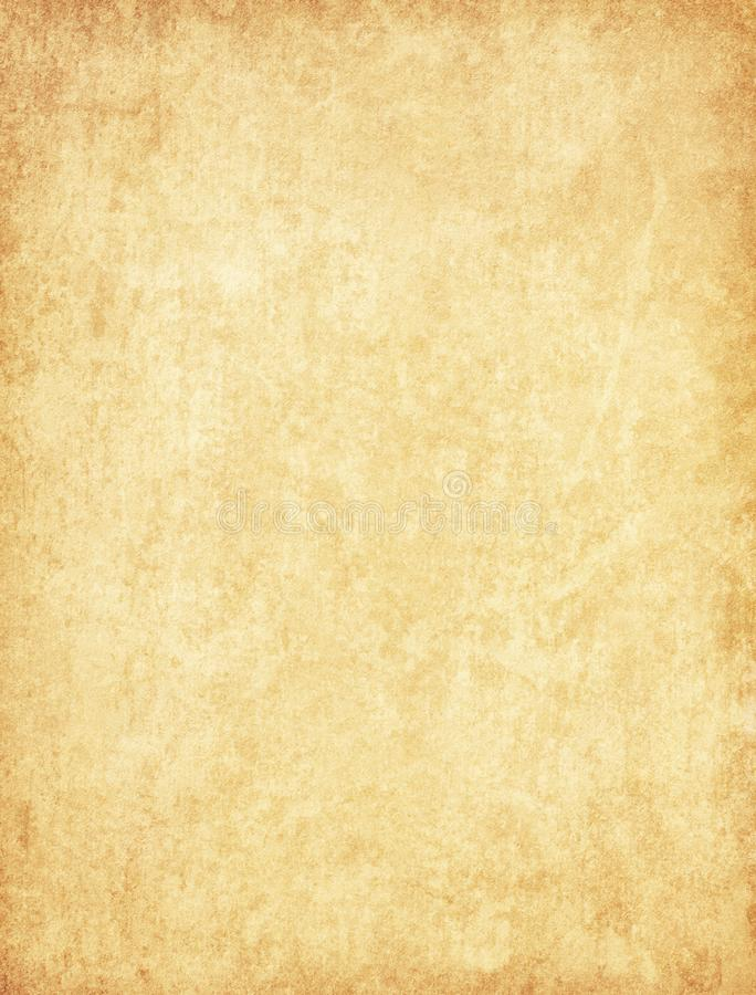 Aged paper texture. Vintage beige background royalty free stock images