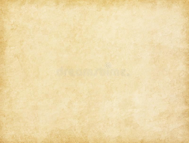 Aged paper texture. Vintage beige background stock images
