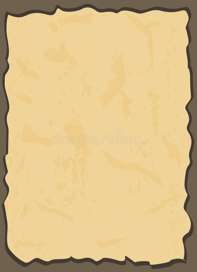 Download Aged paper in vector stock vector. Image of vintage, paper - 22064231