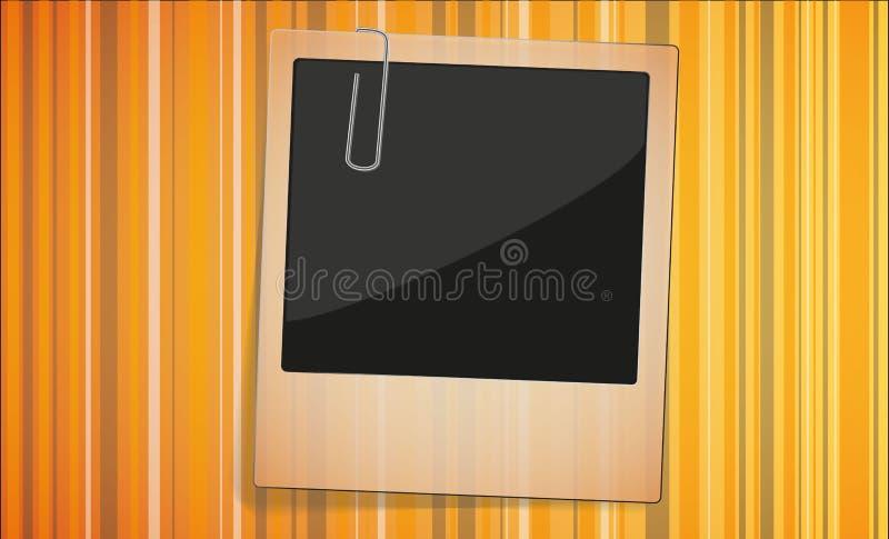 Download Aged Polaroid Photo On Gold Background Royalty Free Stock Photo - Image: 28619745