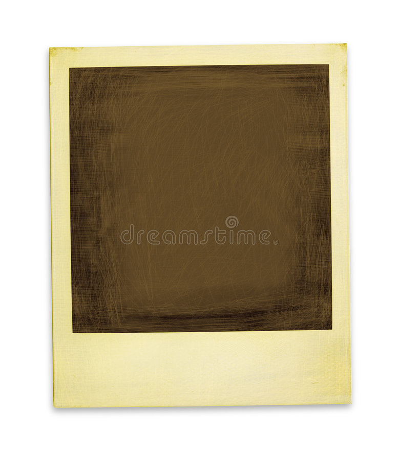 Free Aged Polaroid (with Clipping Path) Stock Photos - 1421653