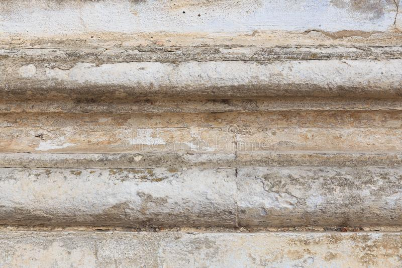 Aged texture of sand and concrete royalty free stock photos