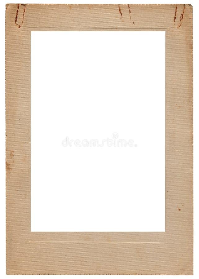 Download Aged Vintage Studio Portfolio Picture Frame Stock Image - Image of album, paper: 25247225