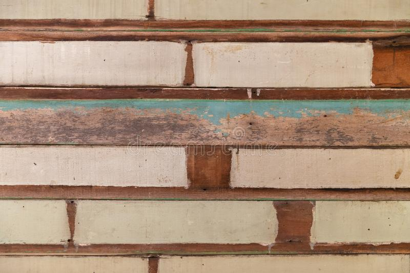Aged weathered vintage wooden planks background texture. Aged weathered wooden planks background royalty free stock image