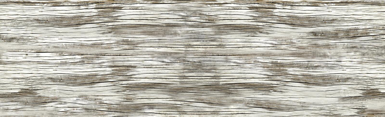 Aged wood. Wood aged and faded by the passage of time royalty free stock photography