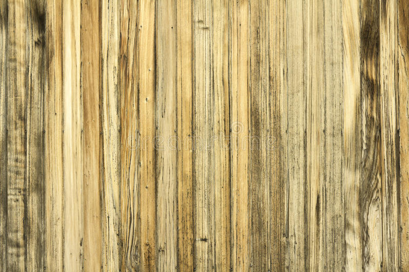 Aged wooden wall pattern stock image
