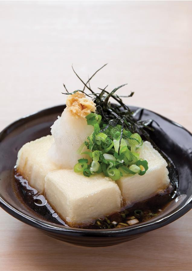 Agedashi Tofu royalty free stock photo