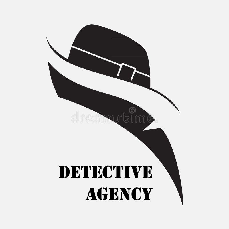 Agence de détectives Éléments pour créer des emblèmes, signes illustration de vecteur
