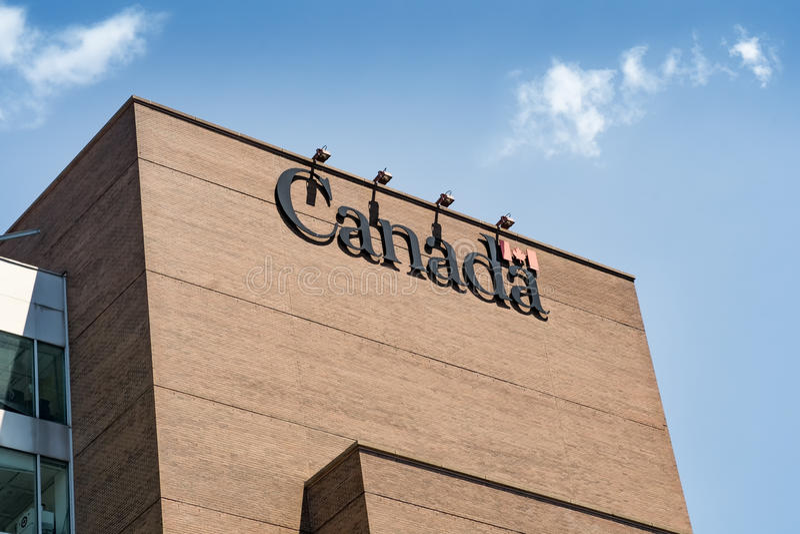 Agence de revenu de Canada image libre de droits