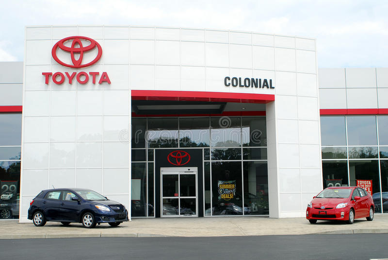 Agence de Toyota photos stock