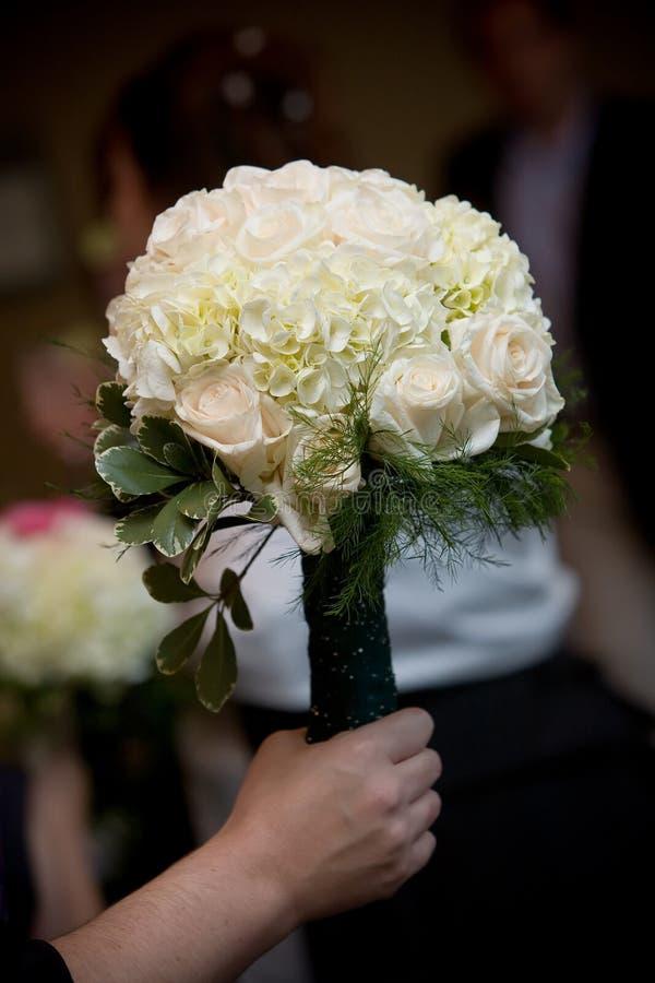 Agencement De Fleur De Bouquet De Mariage Images libres de droits