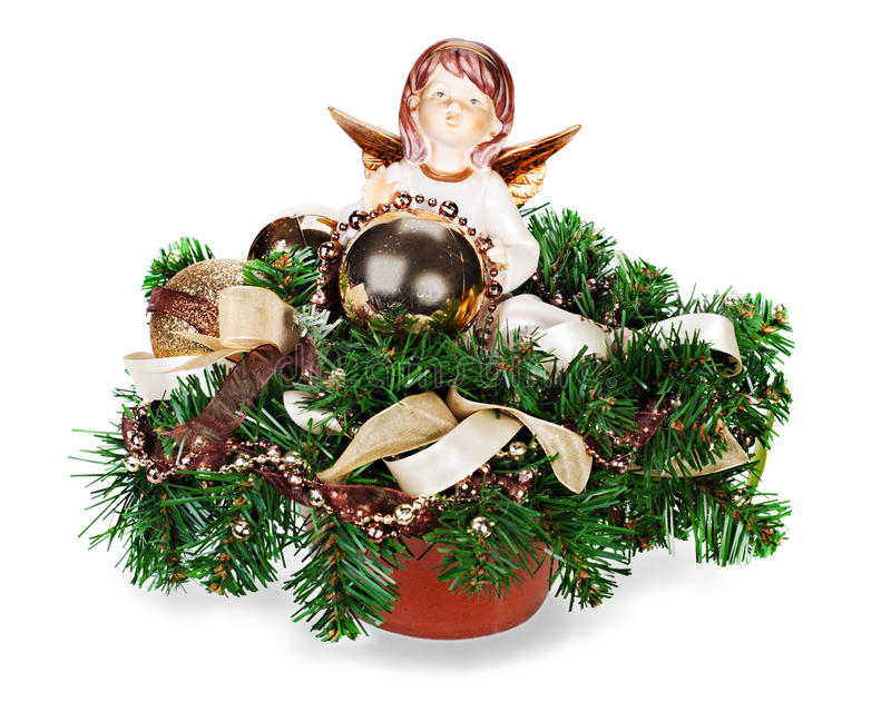 Agencement de Noël photo stock