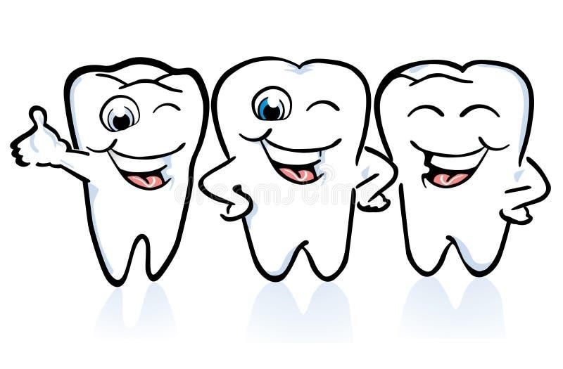 Agencement des dents illustration stock