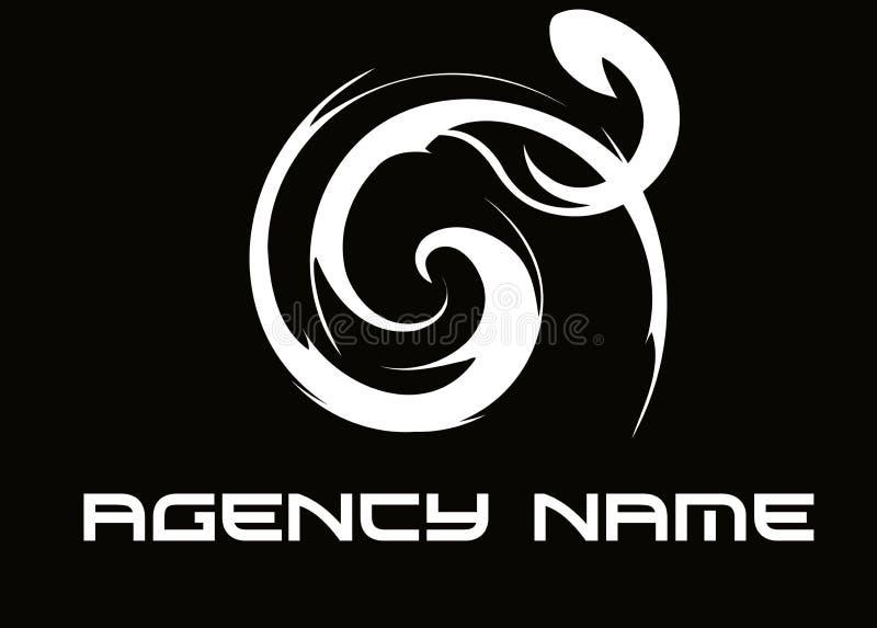 Agencia de la insignia foto de archivo