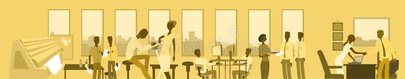 Agencia de publicidad libre illustration