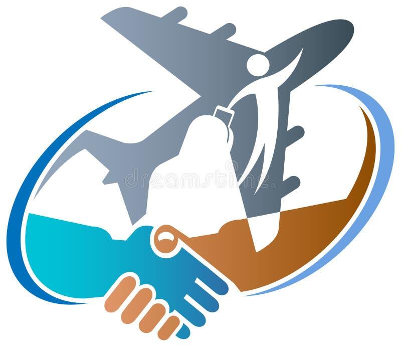 Agencia de viajes stock de ilustración