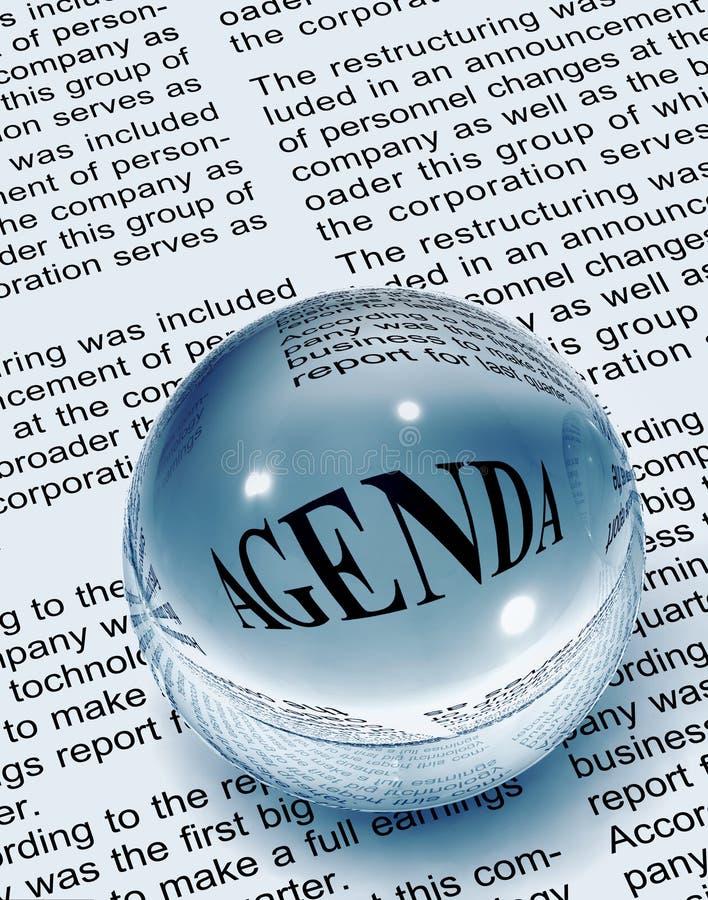 Download Agenda stock photo. Image of type, sell, meet, peak, word - 16196694