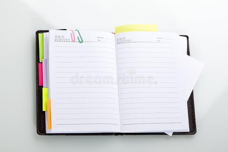Agenda images stock