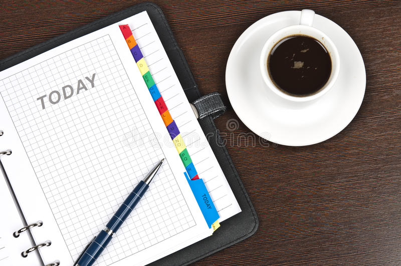 Download Agenda stock image. Image of today, notebook, personal - 20110963