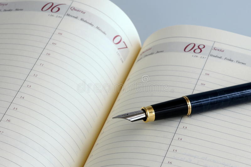 Download Agenda stock image. Image of note, contact, diary, paper - 24158947