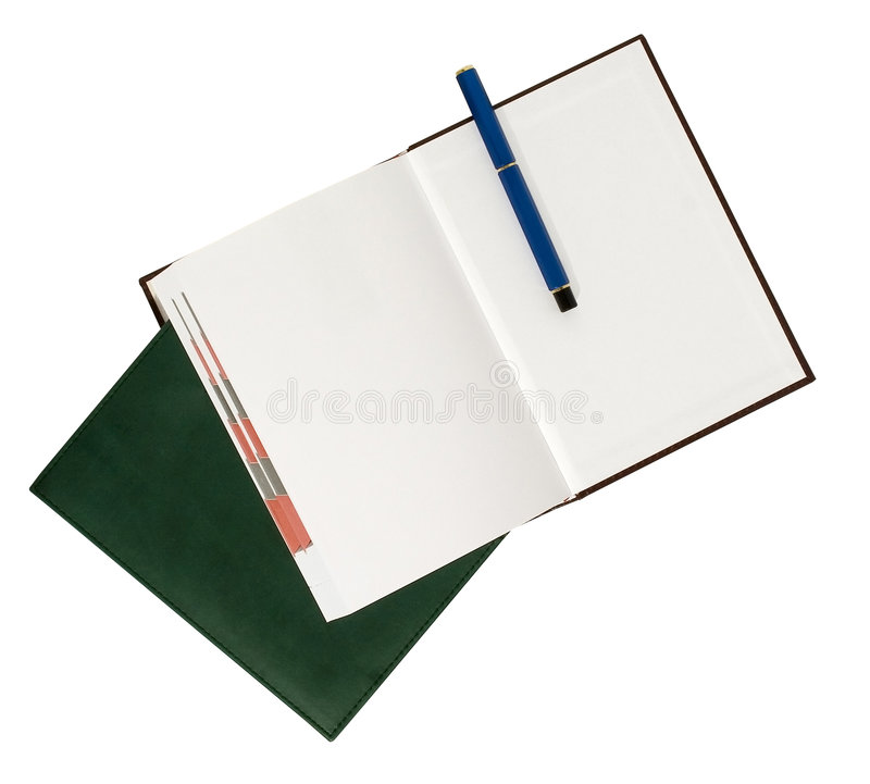 Agenda stock afbeelding