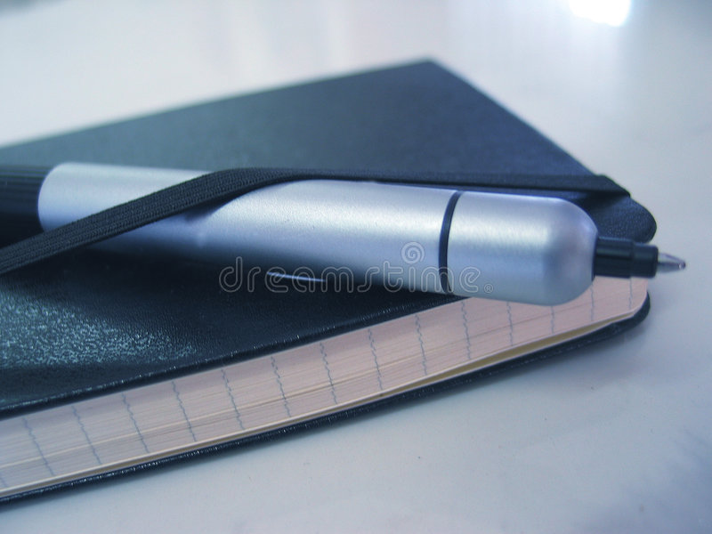 Agenda & pen