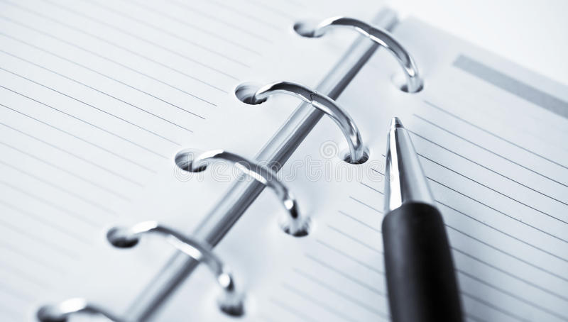 Download Agenda And Ball Pen Stock Images - Image: 10331594