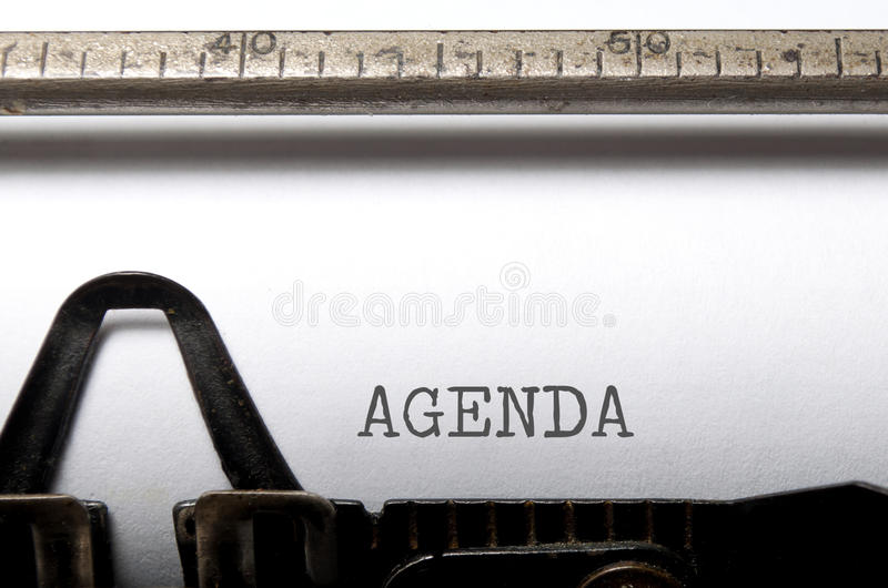 Download Agenda stock photo. Image of plan, vintage, news, printed - 32507534