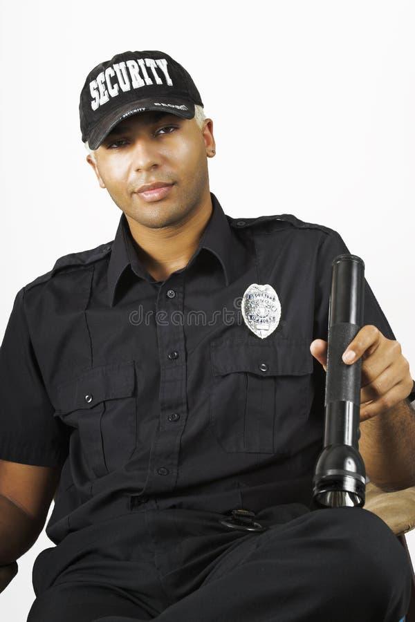 Agent de sécurité image stock