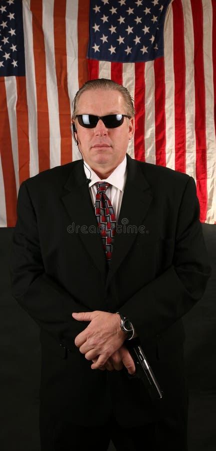 Agent de service secret images stock