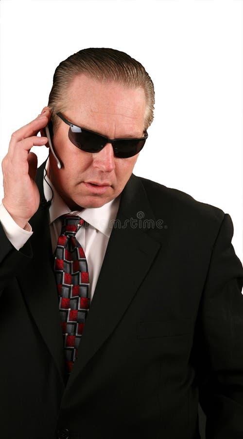 Agent de service secret photos libres de droits