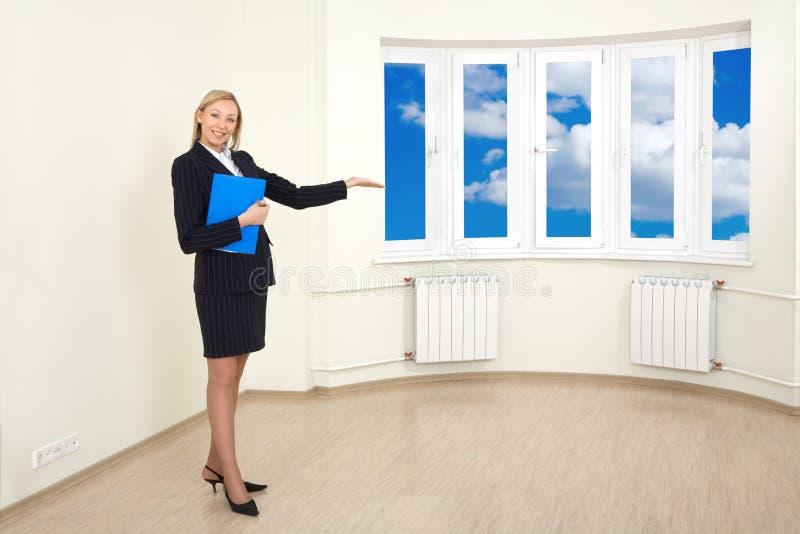 Agent immobilier photographie stock libre de droits
