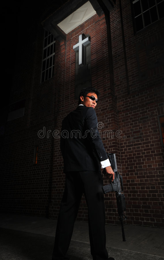 Download Agent/ Killer 2 stock photo. Image of special, bourne - 5912856